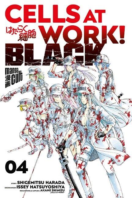 Cells at Work! BLACK 4 - Shigemitsu Harada, Ikuta Hatsuya