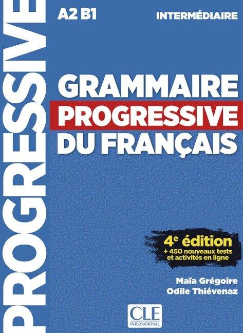 Grammaire progressive du français - Niveau intermédiaire. Buch + Audio-CD -