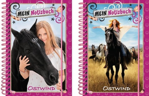 Ostwind: Notizbuch (Motiv nicht frei wählbar) -