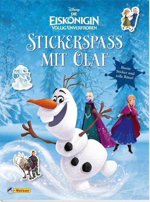 Disney Die Eiskönigin: Stickerspaß mit Olaf -