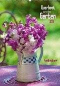 Querbeet durch den Garten (Wandkalender 2018 DIN A2 hoch) - Judith Dzierzawa