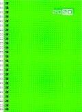 rido Buchkalender 2019 futura 2 Wire-O grün -