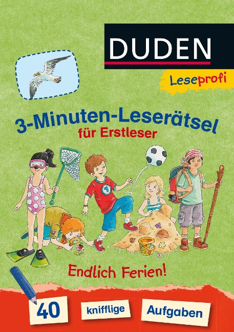Leseprofi - 3-Minuten-Leserätsel für Erstleser: Endlich Ferien