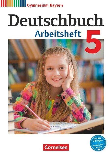 Deutschbuch Gymnasium 5. Jahrgangsstufe. Arbeitsheft mit Lösungen. Bayern - Martin Scheday, Konrad Wieland