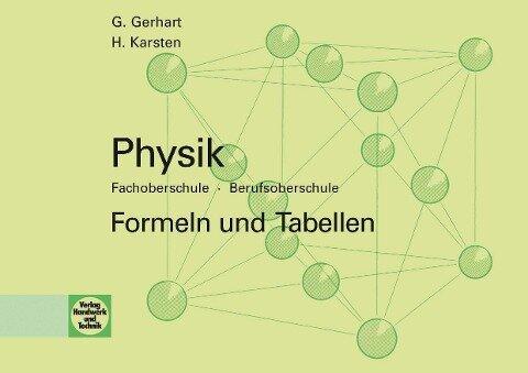 eBook inside: Physik FOS -- BOS - Günter Gerhart, Hubertus Karsten