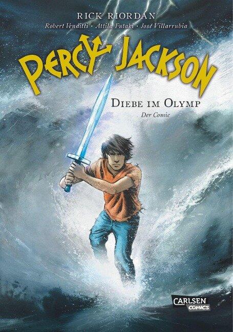 Percy Jackson 01. Diebe im Olymp - Robert Venditti, Rick Riordan