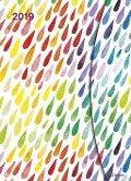 Watercolors 2019 Taschenkalender 16x22 -