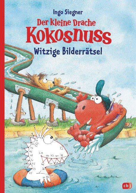 Der kleine Drache Kokosnuss - Witzige Bilderrätsel - Ingo Siegner