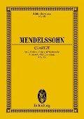Streichquartett a-Moll - Felix Mendelssohn Bartholdy