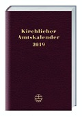 Kirchlicher Amtskalender 2019 - rot -
