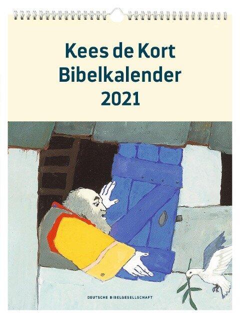 Kees de Kort Bibelkalender 2021 -