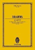 Klavierquartett g-Moll - Johannes Brahms