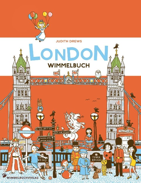 London Wimmelbuch - Judith Drews