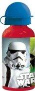 Star Wars Aluflasche mit Open Close Verschluss -