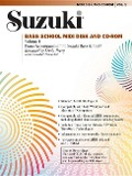 Suzuki Bass School MIDI Disk Acc./CD-Rom, Vol 1: MIDI Disk & CD-ROM [With CDROM and Disk] - Gary Karr