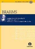 Akademische Festouvertüre, Tragische Ouvertüre, Haydn-Variationen op. 80, 81, 56a - Johannes Brahms