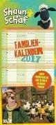 Shaun das Schaf Familienkalender 2017 -