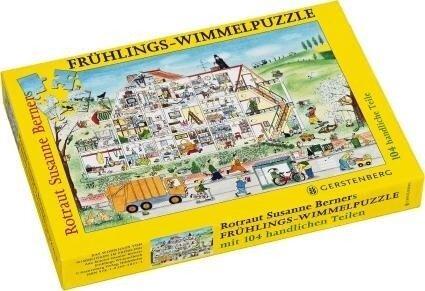 Wimmel-Puzzle Frühling. 104 Teile