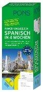 PONS Power-Vokabelbox Spanisch in 4 Wochen -