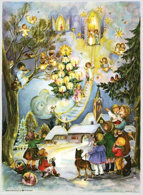 """Adventskalender """"Seht die Himmelsleiter"""" - Anita Rahlweß"""