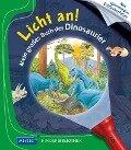 Licht an! Mein großes Buch der Dinosaurier - Delphine Gravier-Badreddine