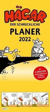 Hägar der Schreckliche - Planer 2022: Monatskalender für die Wand - Dik Browne, Chris Browne