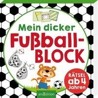 Mein dicker Fußballblock -