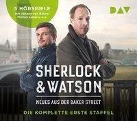 Sherlock & Watson. Neues aus der Baker Street. Die komplette erste Staffel - Viviane Koppelmann, Leonhard Koppelmann, Nadine Schmid, Felix Partenzi