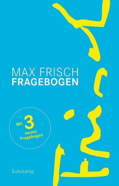 Fragebogen - Max Frisch