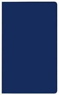 Taschenkalender Modus geheftet PVC blau 2022 -