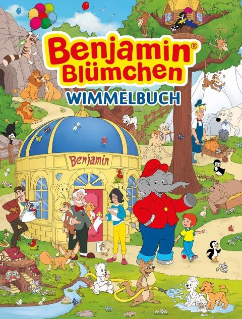 Benjamin Blümchen Wimmelbuch -