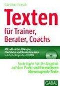 Texten für Trainer, Berater, Coachs - Günther Frosch