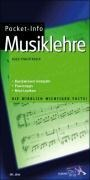 Pocket-Info Musiklehre - Hugo Pinksterboer, Bart Noorman