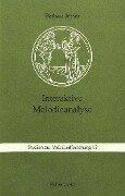 Interaktive Melodieanalyse - Barbara Jesser