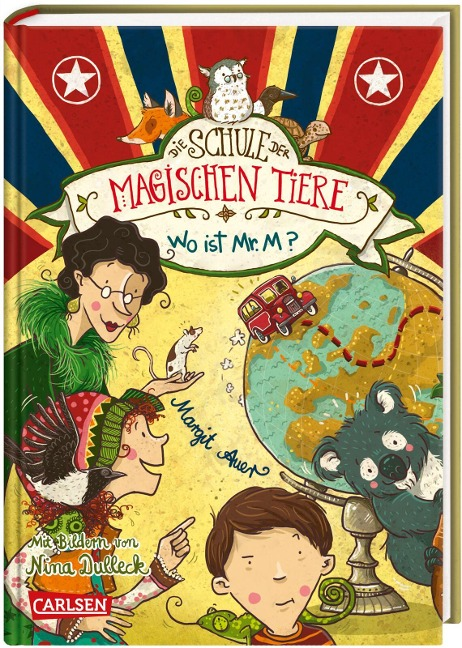 Die Schule der magischen Tiere 07: Wo ist Mr. M? - Margit Auer