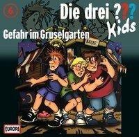 Die drei ??? Kids 06. Gefahr im Gruselgarten (drei Fragezeichen) CD -