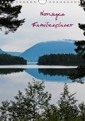 Familienplaner Norwegen (Wandkalender 2017 DIN A4 hoch) - Andrea Koch