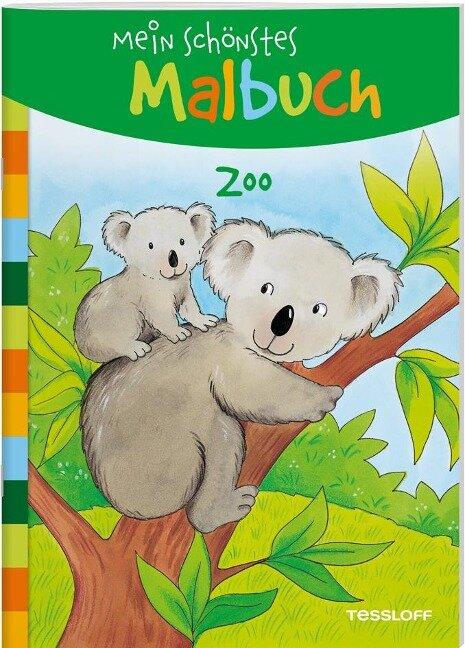Mein schönstes Malbuch. Zoo -
