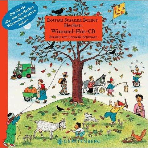 Herbst-Wimmel-Hör-CD - Rotraut Susanne Berner, Wolfgang von Henko, Ebi Naumann