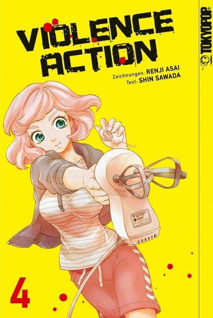 Violence Action 04 - Renji Asai, Shin Sawada