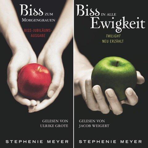 Biss-Jubiläumsausgabe - Biss zum Morgengrauen / Biss in alle Ewigkeit - Stephenie Meyer