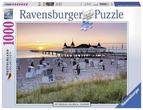 Ostseebad Ahlbeck, Usedom. Puzzle 1000 Teile -