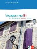 Voyages neu B1 Kurs- und Übungsbuch + Audio-CD -