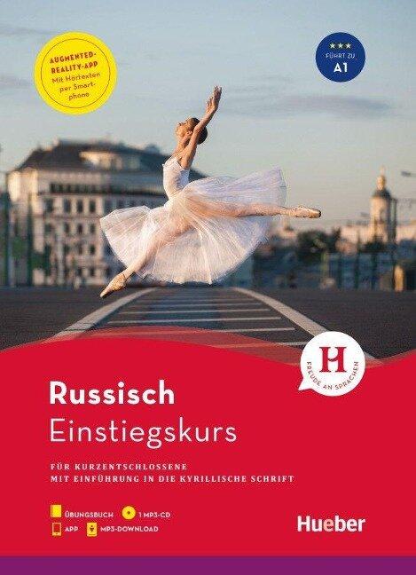 Einstiegskurs Russisch für Kurzentschlossene / Buch + 1 MP3-CD + MP3-Download + Augmented Reality App - Daniel Krasa