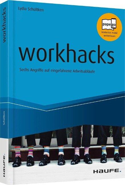 workhacks - Lydia Schültken, Michael Tomoff, Patrick Baumann, Céline Iding, Stefan Decker