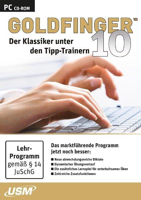 Goldfinger 10 (CD-ROM) - Holger Freudenreich