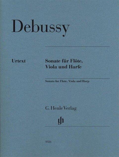 Sonate für Flöte, Viola und Harfe - Claude Debussy