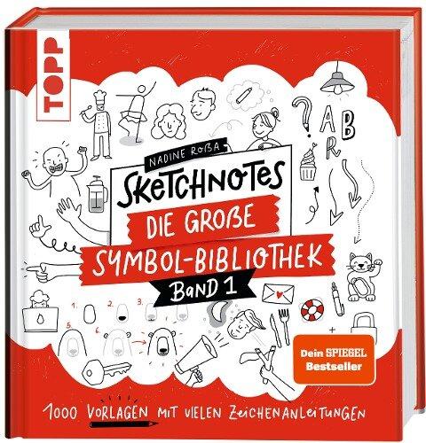 Sketchnotes. Die große Symbol-Bibliothek - Nadine Roßa