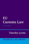 EU Customs Law - Timothy Lyons