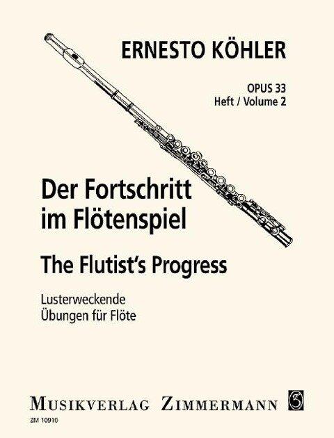 Der Fortschritt im Flötenspiel - Ernesto Köhler
